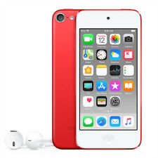 Apple iPod touch 6th Generation Red (128 GB) Mp3/4 Player WiFi A8 Cam - Unused