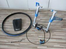 Tacx Rollentrainer Satori T1856 + Schnellspanner + Skyliner + Trainingsreifen