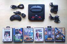 SEGA Mega Drive II Console with Games & Accessories
