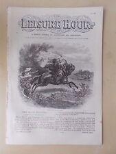ANTIQUE VICTORIAN THE LEISURE HOUR MAGAZINE PAPER No 963 JUNE 11th 1870