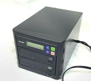 TEAC CD Burner Duplicator Model CDW-D11 1X1 Stand Alone Black Buffer Memory 16x