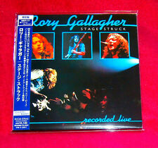 Rory Gallagher Stage Struck Recorded Live MINI LP CD JAPAN BVCM-37643