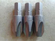 """3x ORIGINALE Britool ph4 Cacciavite Phillips no4 BIT punte esagonali 1/4"""" lunghi 32mm"""