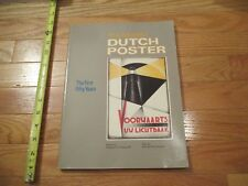 The Modern Dutch Poster the First Fifty Years Book