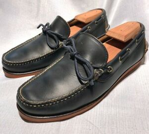 Eastland Made in Maine Boat Shoe, Dark Navy, Size 8D