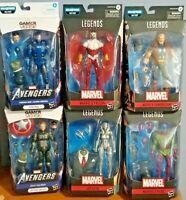 Marvel Legends Avengers Wave Joe Fixit BAF Lot of 6 Figure.(Hasbro 2020)