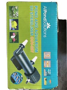 Pond And Aquarium UV steriliser CUV-207