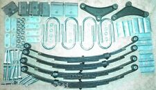 Trailer leaf spring and Marine u-bolts hanger kit for 7k 7,000 lb tandem 1750 lb