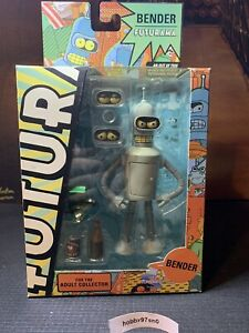 Futurama Bender 6-inch Action Figure By Toynami 2011
