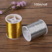 New DIY Hand Handmade gold wire Sewing Machine Embroidery Thread Cross Stitch