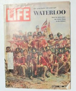 Vtg Johnny Crawford's Personal Star Celebrities Magazine - June 11, 1965 Life