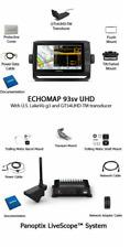 Garmin ECHOMAP UHD 93sv Chartplotter/Fishfinder with Panotix & Panoptix LiveScop