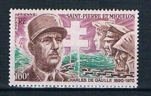 D0825 - SAINT-PIERRE ET MIQUELON - Timbre Poste Aérienne N° 53 Neuf**