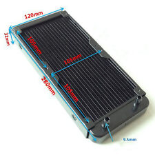 240mm Aluminum Computer Radiator Water Cooling Cooler kit For CPU LED Heatsink