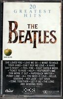 The Beatles - 20 Greatest Hits - COMPACT CASSETTE [07] (VG/VG)