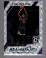 2017-18  Donruss Optic All Stars #7  DeMARCUS COUSINS  KINGS
