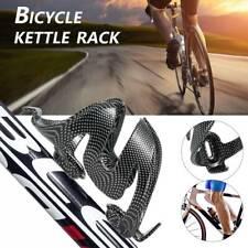 1X in plastica in fibra di carbonio bici strada ciclismo Acqua in Vetro bottleholder 5Y6