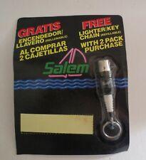 Salem Cigarette Spark Plug Lighter Key Ring  MOC