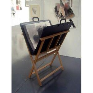 Wooden Print Storage Rack / Print Browser - Display & Store Artwork - DAPRW