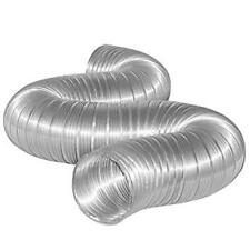 Green Cotton 1 metre x 50 mm Silver Cold Air Intake Feed Pipe Duct High Quality