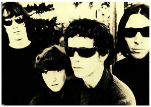 VELVET UNDERGROUND POSTER. A2 repro. Lou Reed.