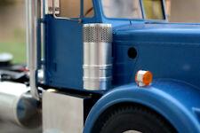 Custom Pair Aluminum Air Cleaner Intake for Tamiya R/C 1/14 King Grand Hauler