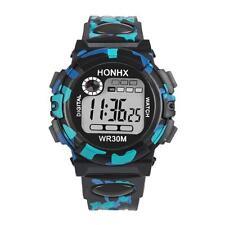 Kids Child Boy Girl Watch Multifunction Waterproof Sports Electronic Watches