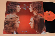 SLADE LP OLD NEW BORROWED AND BLUE 1°ST GERMANY GATEFOLD AUDIOFILI EX