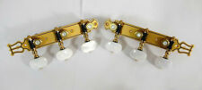 Classical Guitar gold-plated tuners pearl white acrylic button 102-G
