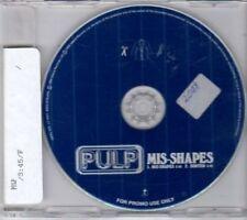 (BU995) Pulp, Mis-Shapes - 1995 DJ CD