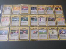 POKEMON CARDS - COMPLETE trainers from Base set