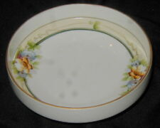 OLD NORITAKE HAND PAINTED JAPANESE PORCELAIN FOOTED NUT, CANDY BOWL, DISH