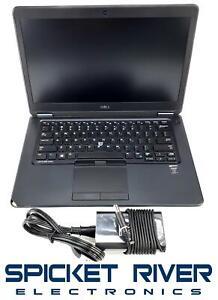 """No Battery - Dell Latitude E7450 i7-5600U 2.60GHz 256GB SSD 8GB RAM 14"""" - READ"""