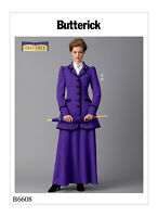 Butterick Sewing Pattern B6608 Making History Misses' Costume 14-22