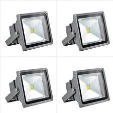 4 x 10W Floodlight Flood light Spotlight Outdoor Landscape  Lamp Waterproof Led