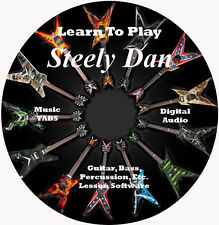 Steely Dan Guitar TABS Lesson CD 71 Songs + Backing Tracks + BONUS!!