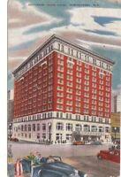 Postcard Jefferson Davis Hotel Montgomery AL