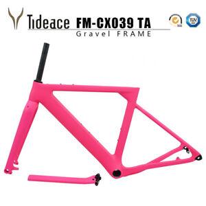T800 Gravel Cycling Road Racing Bicycle Frames FM-CX039 BB386 Bike Frames
