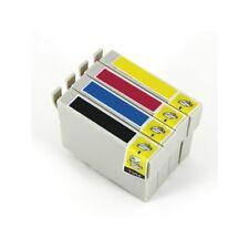 4 tintas compatibles non oem para Epson STYLUS SX130 T1281 T1282 T1283 T1284