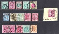 NATAL COLLECTION LOT KINGS/QUEENS x16 OG H M/M CANCELS MOST SOUND $$$$$$$