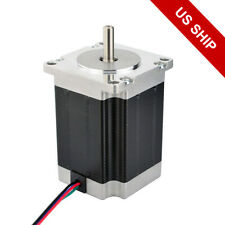 Nema 23 Stepper Motor 269oz.in 2.8A 76mm 4-wire for CNC Mill Lathe Router Robot
