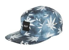 Huf TIE DYE PLANTLIFE VOLLEY Black 5 Panel Cap Adjustable Men's Hat