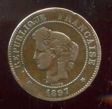 5 centimes CERES 1897 A   torche  (7)