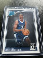 2018-19 Donruss Optic Jaren Jackson Jr RC #188 Grizzlies (a)