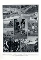 Durchstich Lötschbergtunnel 1911 XL Seite 7 Abb Schweiz Tunnel Spiez Brig Wallis