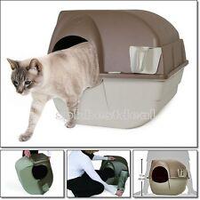 Large Scoop Litter Box Pet Kitty Easy Cleaning Self Cat Toilet Hidden Households