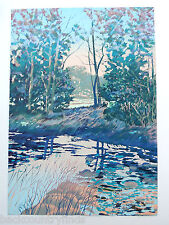 Donald Munz 40 x 30 Creekside Limited Edition Signed Numbered Print