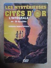 7982//LES MYSTERIEUSES CITES D'OR L'INTEGRALE 39 EPISODES COFFRET 4 DVD EN BE