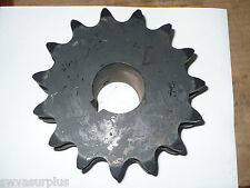 "Martin D100B15 Keyed Double Roller Sprocket, 1-15/16"" Bore, New"