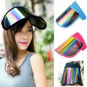 Sun Hat Adjustable UV Visor Reusable Face Shield Headband PPE Protection Cover